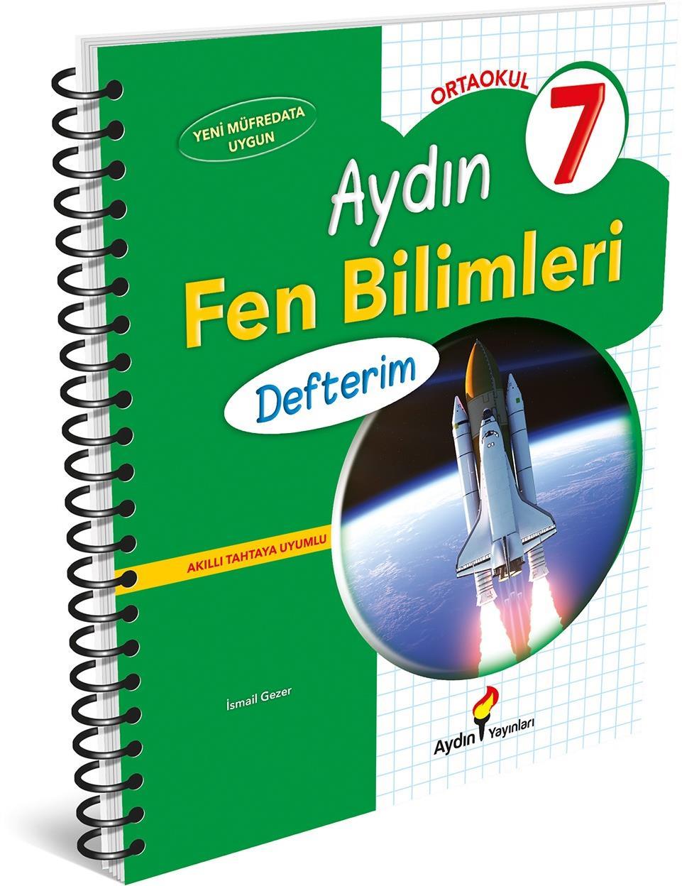 7. Sınıf Fen Bilimleri Defterim Aydın Yayınları