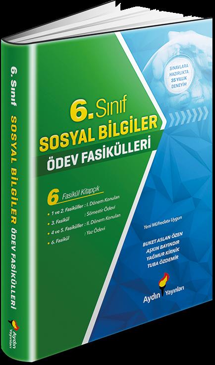 6. Sınıf Sosyal Bilgiler Ödev Fasikülleri Aydın Yayınları