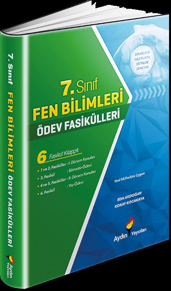 7. Sınıf Fen Bilimleri Ödev Fasikülleri Aydın Yayınları