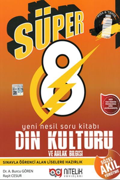 8. Sınıf Nesil Süper Din Kültürü Soru Kitabı Nitelik Yayınları
