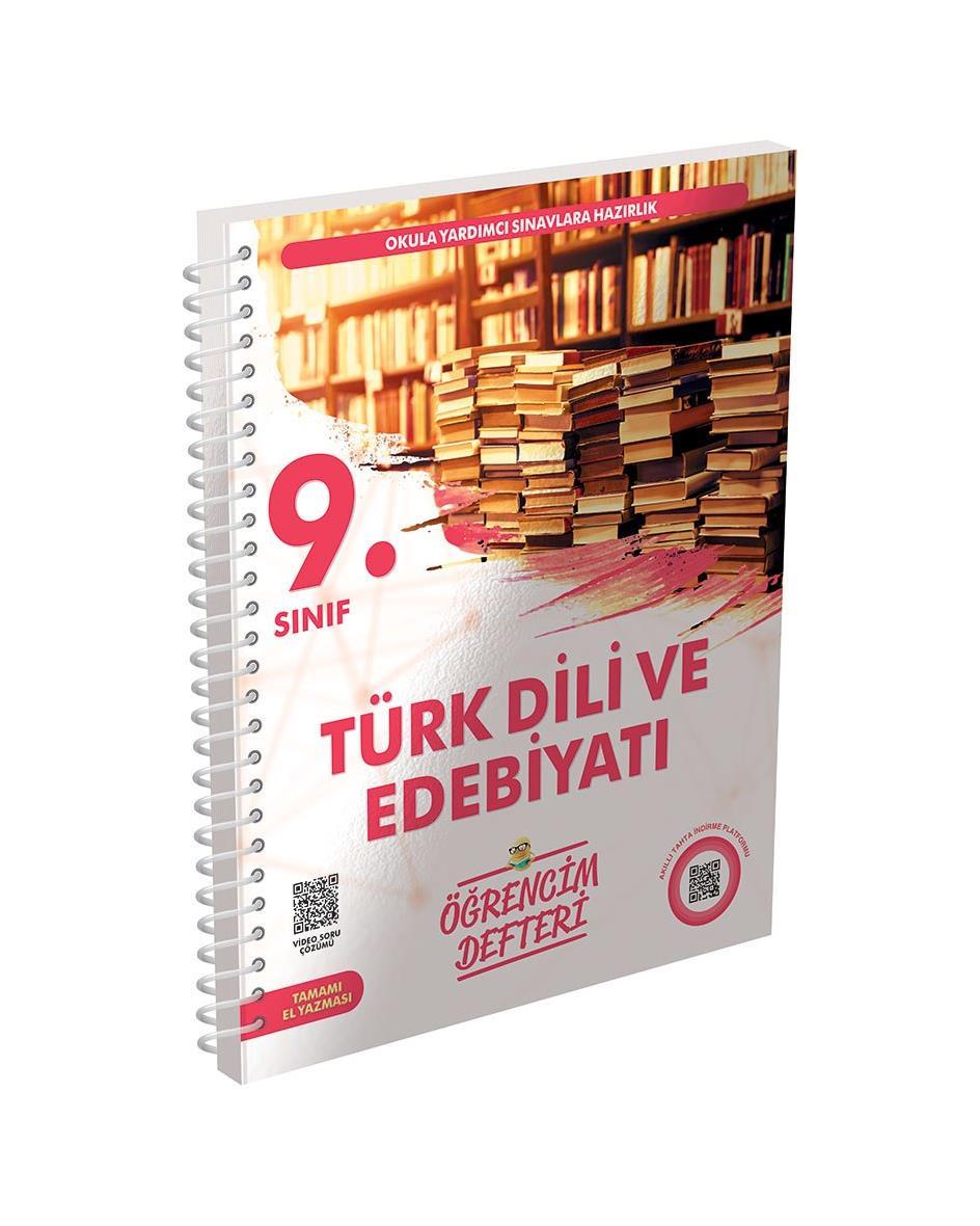 9.Sınıf Türk Dili ve Edebiyatı Öğrencim Defteri Murat Yayınları