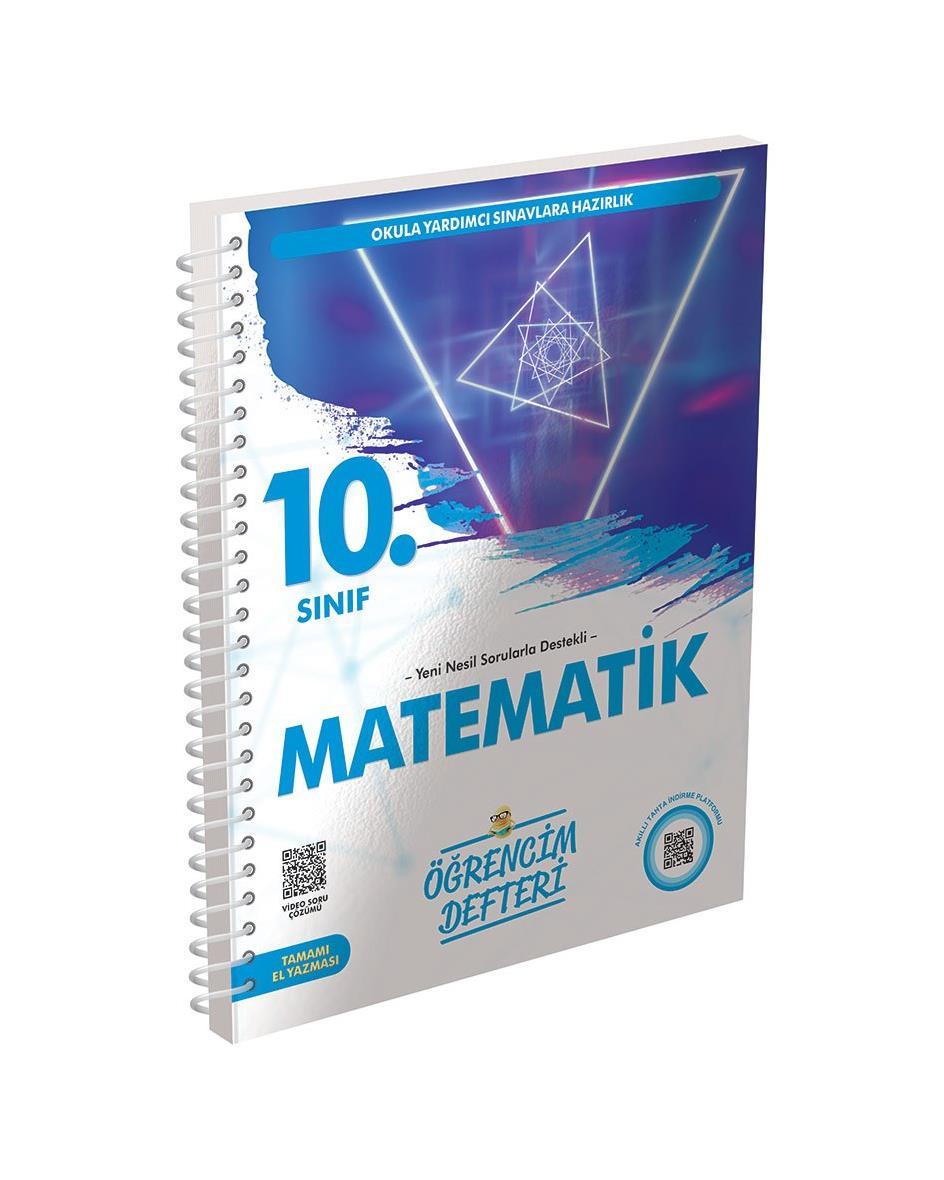 10.Sınıf Matematik Öğrencim Defteri Murat Yayınları