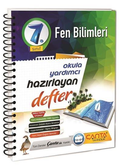 7. Sınıf Defter Hazırlayan Fen Bilimleri Çanta Yayınları