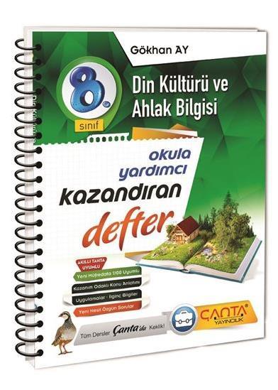 8. Sınıf Defter Kazandıran Din Kültürü ve Ahlak Bilgisi Çanta Yayınları