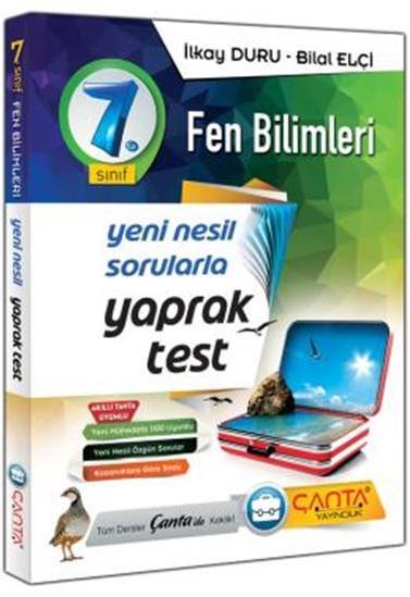 7. Sınıf Yaprak Test Fen Bilimleri Çanta Yayınları