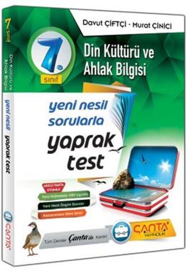 7. Sınıf Yaprak Test Din Kültürü ve Ahlak Bilgisi Çanta Yayınları
