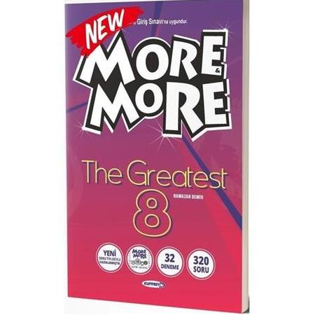 More & More 8.Sınıf Englısh The Greatest (32 Deneme) 2021